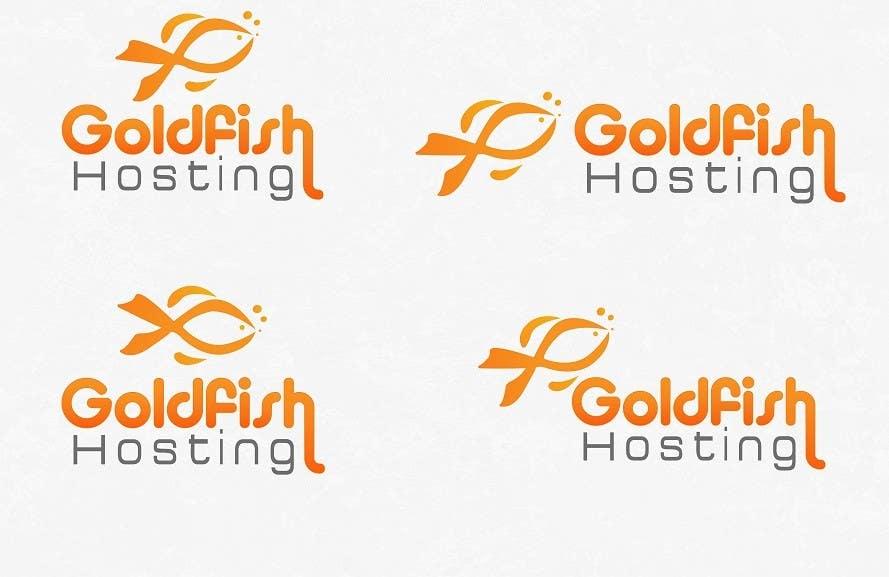 Bài tham dự cuộc thi #                                        29                                      cho                                         Design a Logo for Goldfish Hosting
