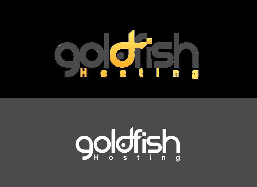 Bài tham dự cuộc thi #                                        70                                      cho                                         Design a Logo for Goldfish Hosting