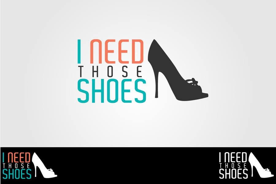 Penyertaan Peraduan #77 untuk Design a Logo for I NEED those shoes