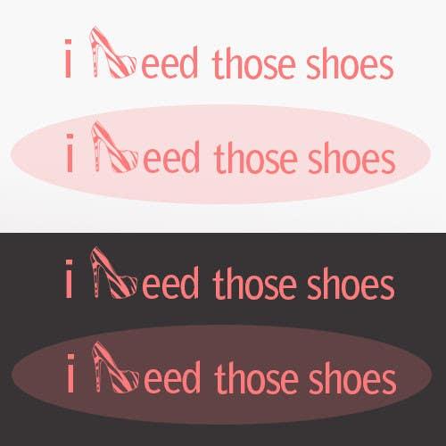 Penyertaan Peraduan #71 untuk Design a Logo for I NEED those shoes
