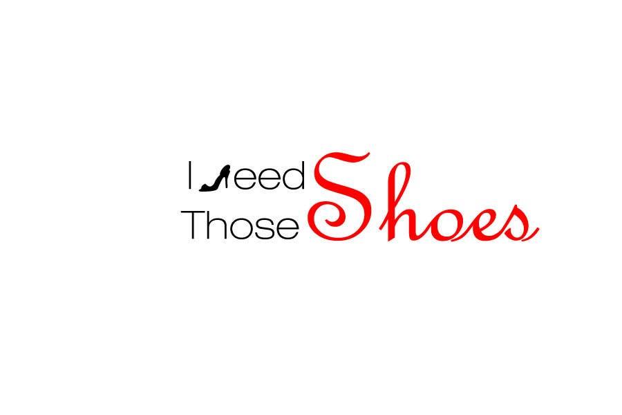 Penyertaan Peraduan #13 untuk Design a Logo for I NEED those shoes