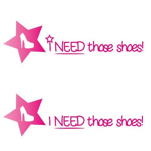 Penyertaan Peraduan #17 untuk Design a Logo for I NEED those shoes