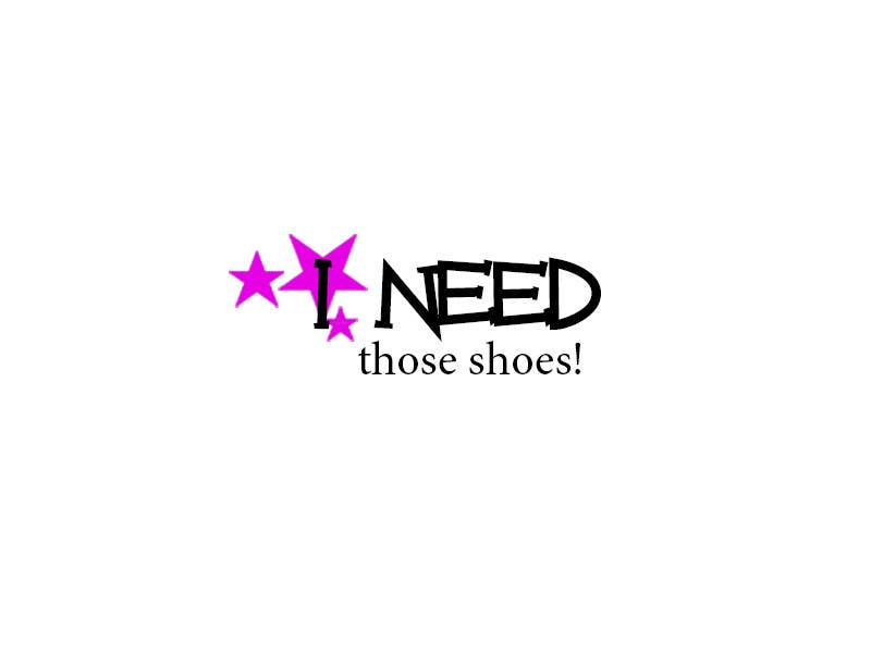 Penyertaan Peraduan #45 untuk Design a Logo for I NEED those shoes