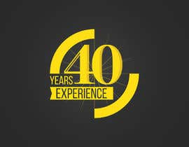 "#28 for Design a Logo for ""40 Years Experience"" af ruizgudiol"