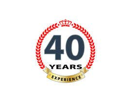 "#13 for Design a Logo for ""40 Years Experience"" by DesignStorm15"