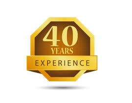 "#33 for Design a Logo for ""40 Years Experience"" by DesignStorm15"