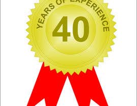 "#18 for Design a Logo for ""40 Years Experience"" by thoughtcafe"