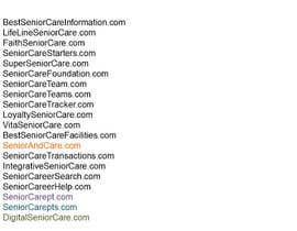 #152 for Please suggest Business name/Domain for senior care  agency by ImranBinIdrees