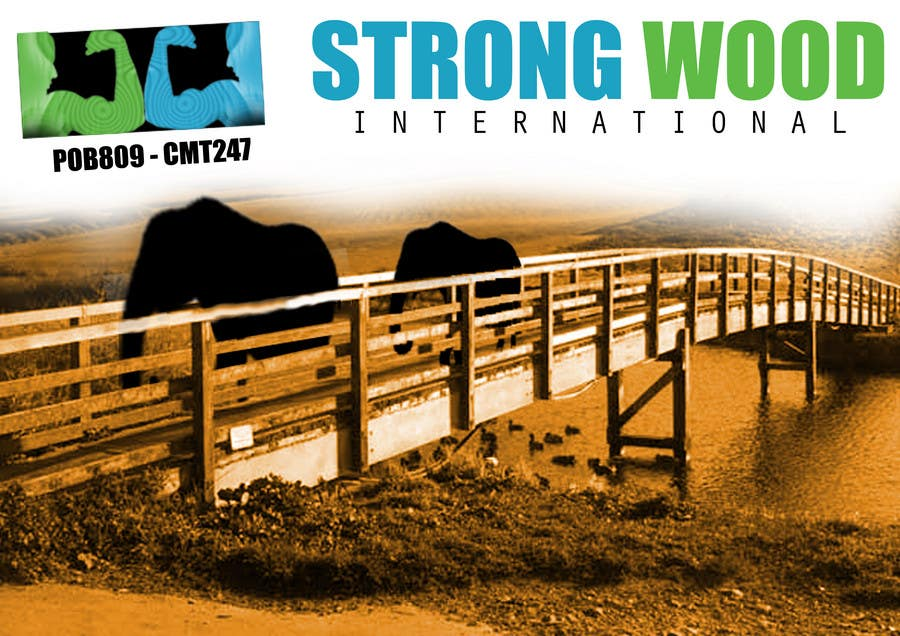 Contest Entry #                                        16                                      for                                         strongwood new logo and advertising contest