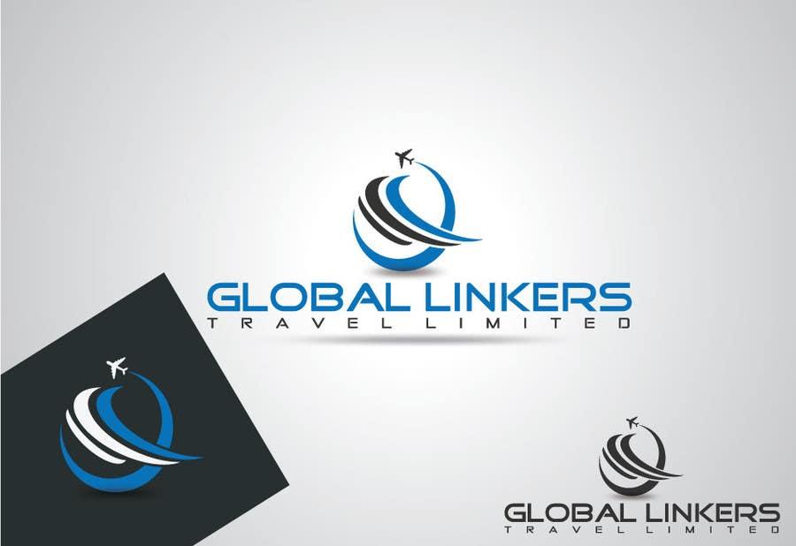 Konkurrenceindlæg #                                        18                                      for                                         Design a Logo for Global Linkers Travel Limited