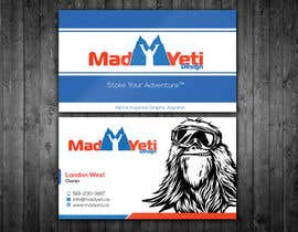 #87 cho Design some Business Cards for Mad Yeti Design bởi renelyncamil