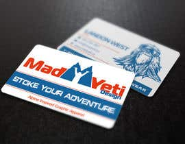 #100 for Design some Business Cards for Mad Yeti Design by s04530612