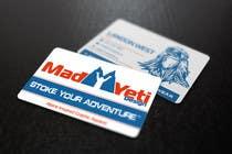 Design some Business Cards for Mad Yeti Design için Graphic Design108 No.lu Yarışma Girdisi