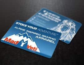 #111 para Design some Business Cards for Mad Yeti Design por s04530612