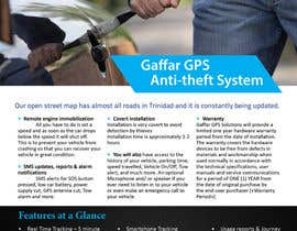 #16 for Design a Brochure for a GPS Anti-theft System af Olywebart