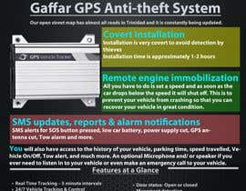 #17 untuk Design a Brochure for a GPS Anti-theft System oleh uniqmanage