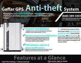 #22 for Design a Brochure for a GPS Anti-theft System af uniqmanage