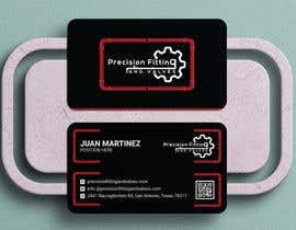 #195 untuk Design Business Cards For Oil and Gas company oleh Shyamals