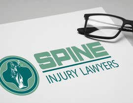 AndriiOnof tarafından Design a Logo for Spine Injury Lawyers için no 17