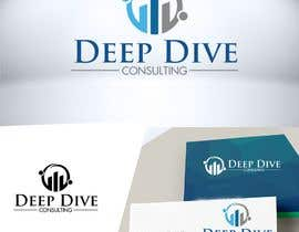 #118 for Logo Graphic design with word mark and tagline included for my organisation Deep Dive Consulting. I would expect brandname if you can think of for Deep Dive Consulting. by Mukhlisiyn