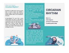 Nro 42 kilpailuun Make a Tri-fold Brochure for Sleep Disorder käyttäjältä imtiazimti