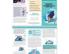 Nro 9 kilpailuun Make a Tri-fold Brochure for Sleep Disorder käyttäjältä stanleydxb