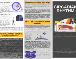 Nro 30 kilpailuun Make a Tri-fold Brochure for Sleep Disorder käyttäjältä gilangyogap