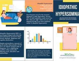 Nro 10 kilpailuun Make a Tri-fold Brochure for Sleep Disorder käyttäjältä kmmtprl