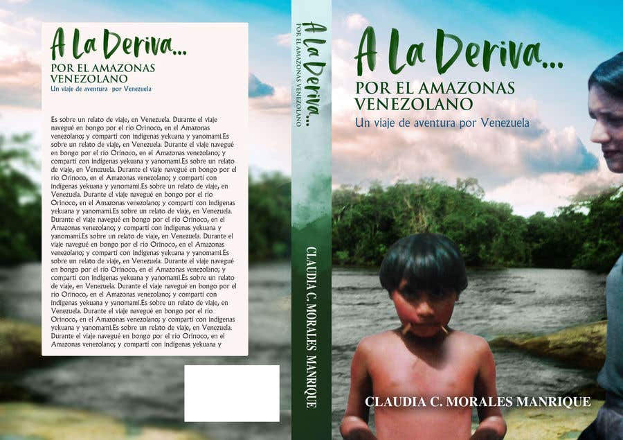 Inscrição nº                                         57                                      do Concurso para                                         CREAR PORTADA DE LIBRO (RELATO DE VIAJE) para publicar en Kindle (KDP - en Amazon)