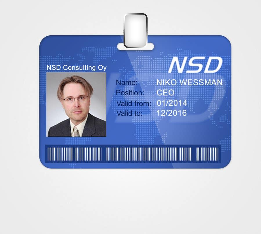 entry #45creative3dartist for design a company id card