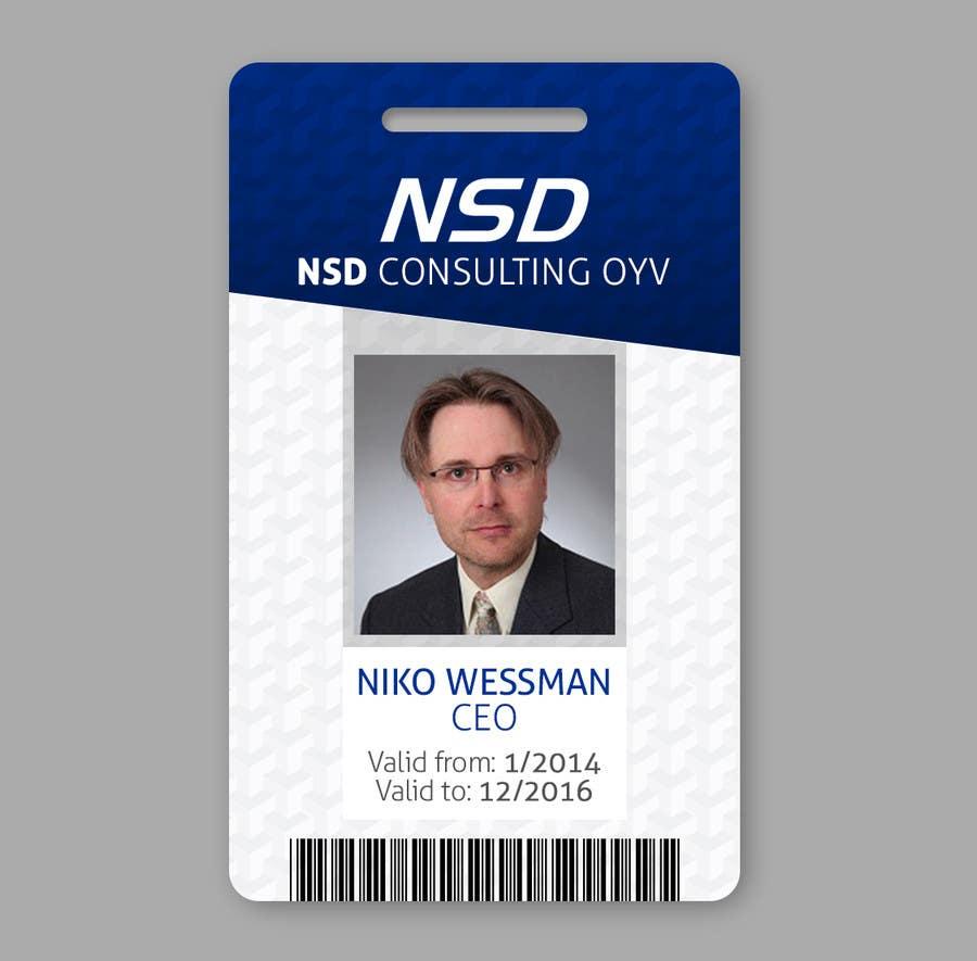 design a company id card | freelancer