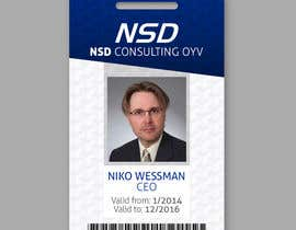 #56 for Design a company ID card by jessikajdibona