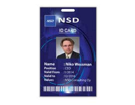#53 for Design a company ID card by Zakaria099