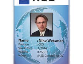 #60 for Design a company ID card by Zakaria099