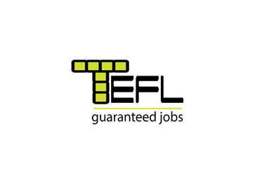 #28 for Design a Logo for guaranteed TEFL jobs af linadenk