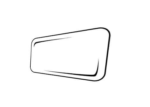 Contest Entry #53 for Illustrate a black and white shape in vector