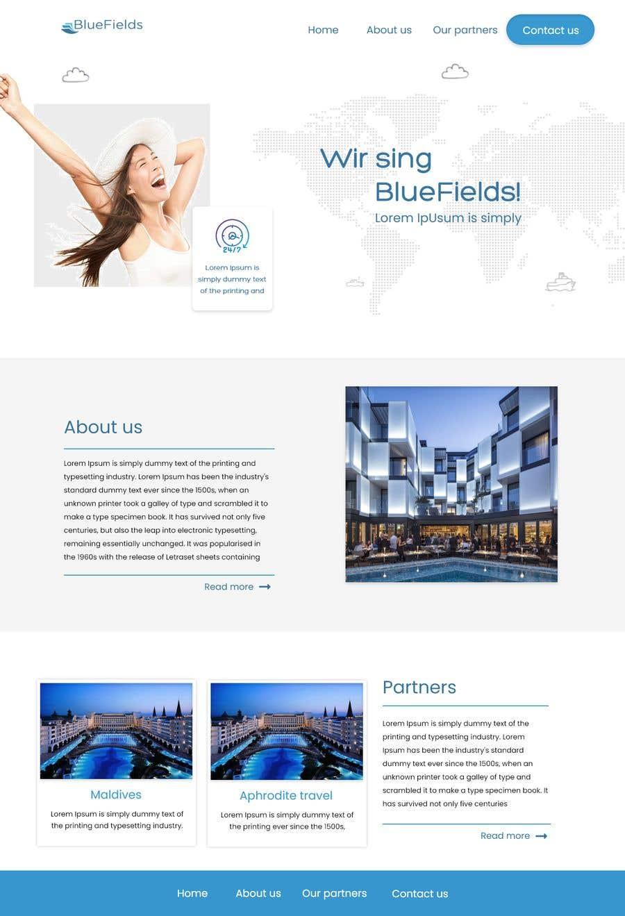 Proposition n°                                        52                                      du concours                                         Website Design for a company page