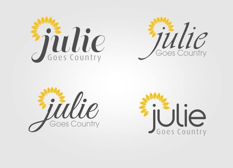 Konkurrenceindlæg #                                        33                                      for                                         Design a Logo for Julie Goes Country