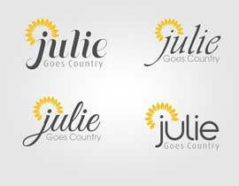 hubbak tarafından Design a Logo for Julie Goes Country için no 33