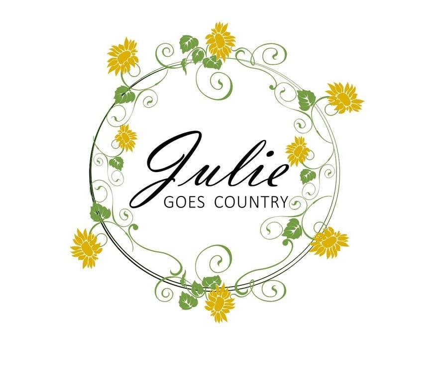 Konkurrenceindlæg #                                        5                                      for                                         Design a Logo for Julie Goes Country