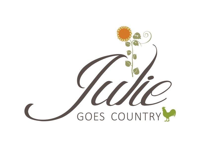 Konkurrenceindlæg #                                        31                                      for                                         Design a Logo for Julie Goes Country