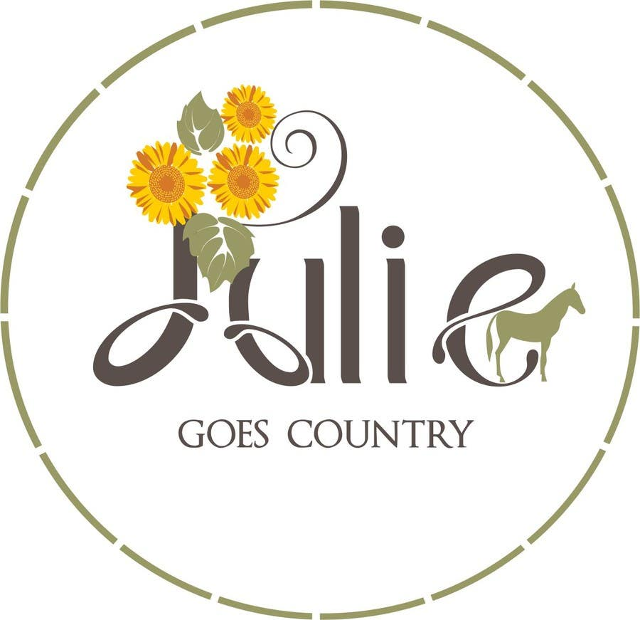 Konkurrenceindlæg #                                        58                                      for                                         Design a Logo for Julie Goes Country