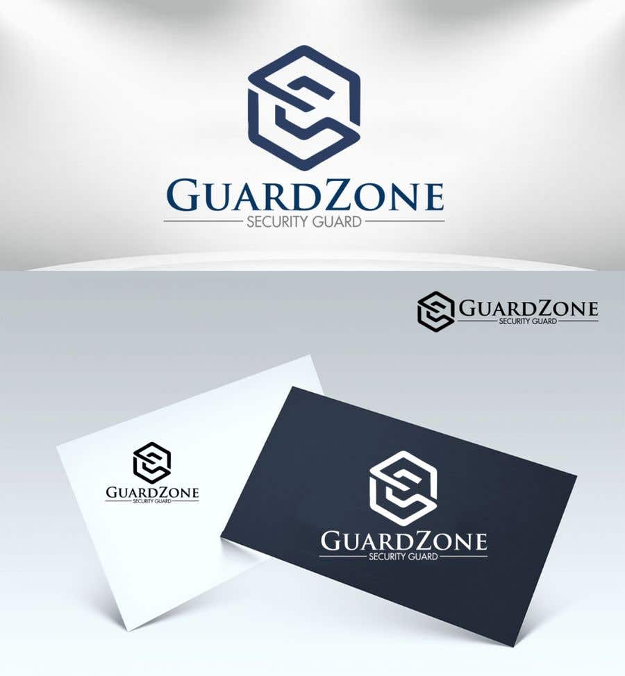 Kilpailutyö #                                        34                                      kilpailussa                                         Security Guard Training and Job Site Logo