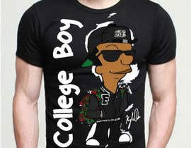 "#6 cho Design a T-Shirt for ""College Boy"" bởi mrsusha"