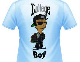 "#9 cho Design a T-Shirt for ""College Boy"" bởi Syafiqjos"