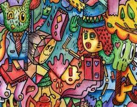 nº 28 pour Artist to Color Illustration for Coloring Book Cover par marinaregali