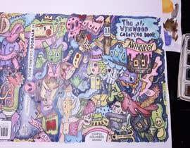 nº 69 pour Artist to Color Illustration for Coloring Book Cover par Undinasnow