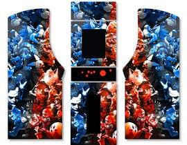 #30 untuk We need graphics skin design for arcade machine (pop art)-MUST BE ORIGINAL oleh engielgamal82