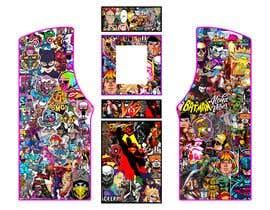#9 untuk We need graphics skin design for arcade machine (pop art)-MUST BE ORIGINAL oleh rafaelM20