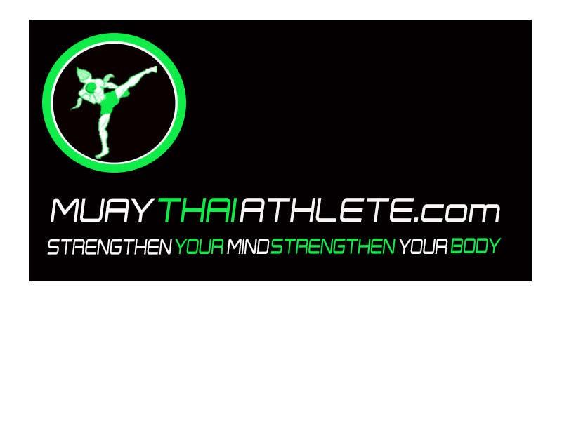 Inscrição nº 8 do Concurso para Design a Logo for MuayThaiAthlete.com